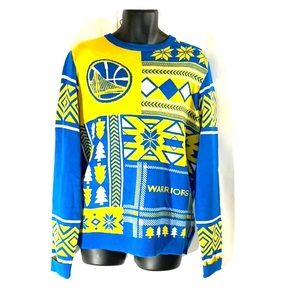 Other - Golden State Warriors Christmas Sweater Large